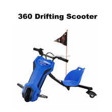 Cheap Motor Scooter Blue 3 Wheels Drifting Scooter Kids Electric Scooter