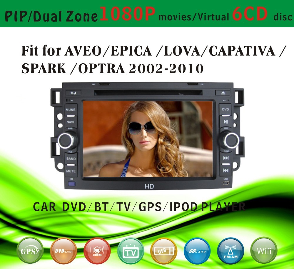 gps software for car stereo fit for Chevrolet Captiva 2006-2012 with radio bluetooth gps tv pip dual zone
