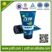 Labeling toothpaste 120ml cosmetic packaging container supplier