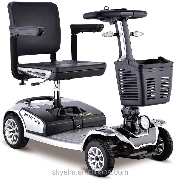 Foldable Good Quality 4 wheel handicaped Electric Scooter Mobility for Disabled Elder