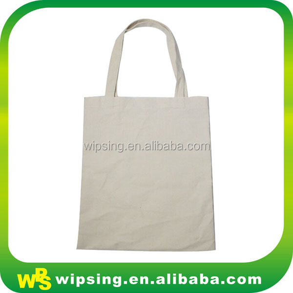 Resuable Cotton Shopping Bag With Handle For Vegetables