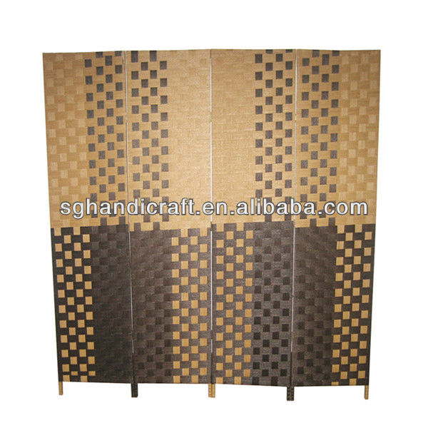 bamboo room divider screen