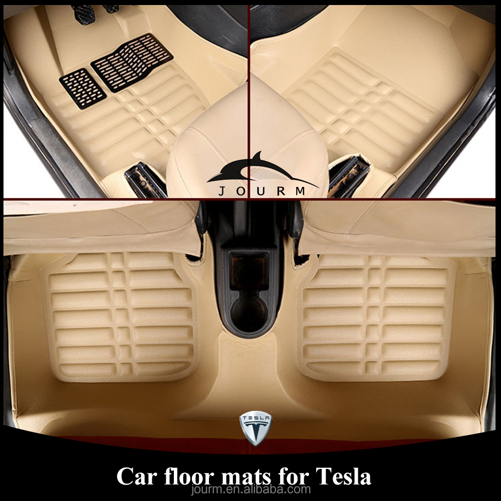ultra smart convenient tesla double-treadle car mat used cars