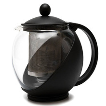 High temperature resistant glass tea pot