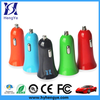 small size horn 2.1a usb charger, portable 2 1a usb car charger, usb car charger 2 port