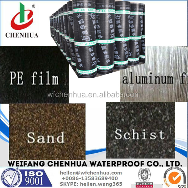 SBS APP oxidized bitumen asphalt waterproof membrane for construction building