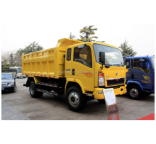 China best price Sinotruk 5 ton volume sand tipper dump truck for sale