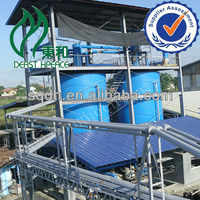 latest waste engine oil recycling equipment with CE ISO