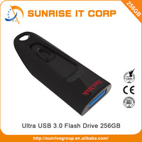 Light weight design sandisk 256gb usb flash drive 3.0