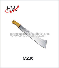 Factory price africa machete rubber knife made in China