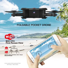 Hot selling High Quality Super Mini JD-92 pocket selfie foldable RC Drone with 720p HD Wifi FPV camera remote control quadcopter