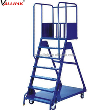 Mobile Folding Steel Step Ladders