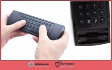 2.4G Smart Remote Control Air Mouse Wireless Keyboard for MX3 Android Mini PC TV Box For Laptop