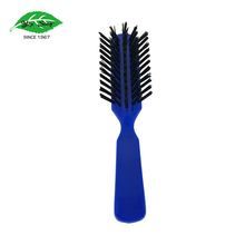 Factory price but high quality hair brush detangling plastic hair brush manufacturing