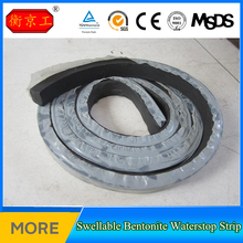 Bidding150% Swell Black Bentonite Rubber Water Stop Strip in Construction Joint