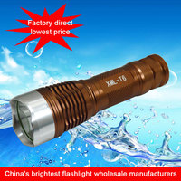 Long distance coverage 1000m brightness led torch, High quality lowest price cree aluminium alloy multipurpose led flashlight