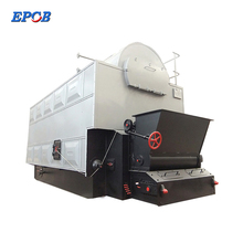 1 2 4 6 8 10 12 15 20 Ton Indonesia South Africa Coal Fired Chain Grate Stoker Steam Boiler for Sugter Mill