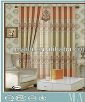 The hot sale hotel curtain fancy office window curtains wholesale