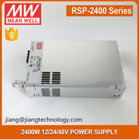 2400W Single Output Power Supply 48V 50A RSP-2400-48 Meanwell Transformer PFC Function