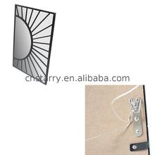 Adhesive small square steel mirror with trade assurance