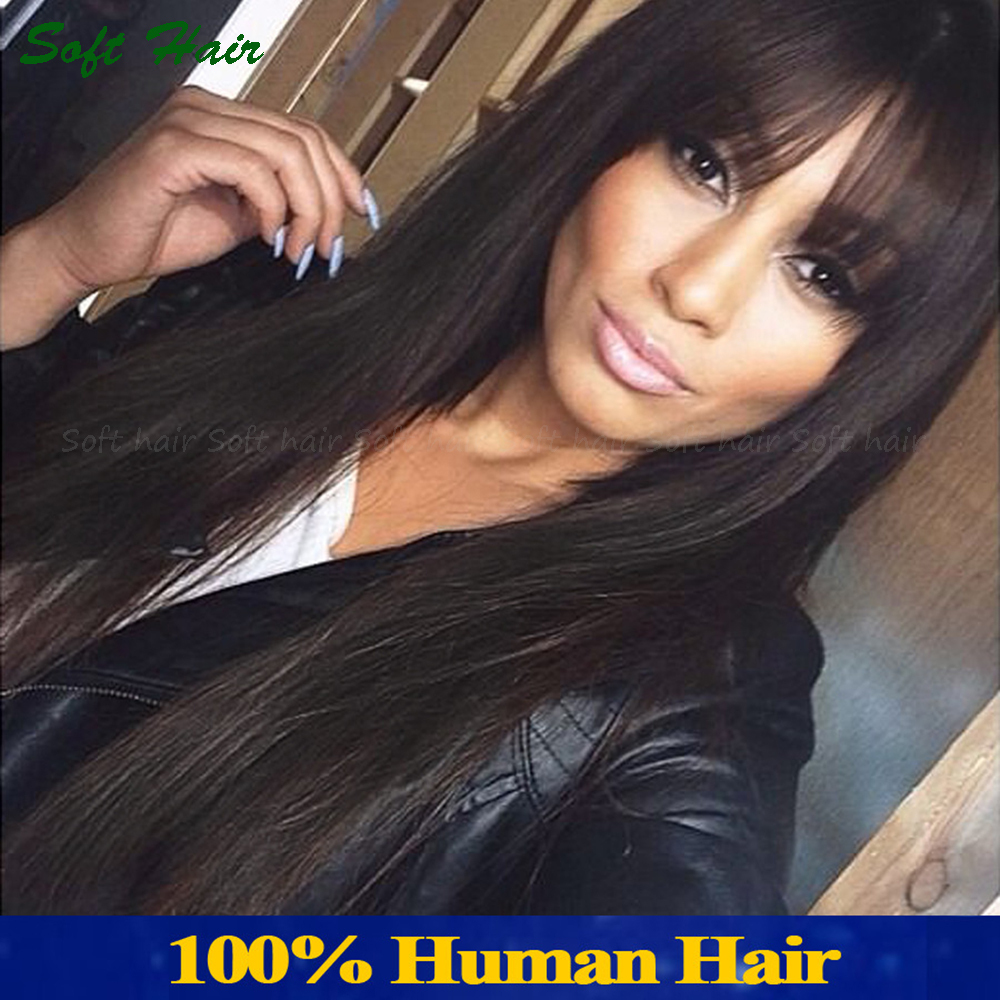 100% indian human hair wigs for <strong>black</strong> women thin skin perimeter full lace wigs straight