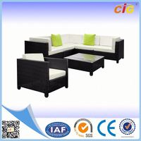 Weather-resistant Attractive oval sofa set outdoor