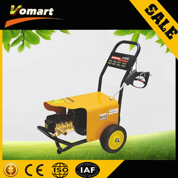 2014 CE 220V/380V 5.5KW 250 bar high pressure washer/electric high pressure washer/stem removing machine