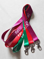 factory OEM cheap christmas id card lanyard/work card lanyard
