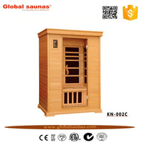 luxury mini outdoor portable far infrared sauna cabin