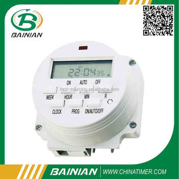 FM-S1 WITH CE STATEMENT,WEEKLY DIGITAL TIMER MODULE