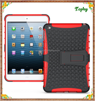 China Suppliers Hybrid Combo plastic and TPU case with Stand For ipad mini 4 Tablet Case