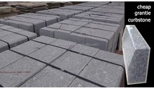 china Gray granite G383 road curbstones cheap kerbstones,landscaping stone factory directly sale granite curbs on promotion