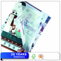 Wholesale A2 Plastic Cover File Folder For Christmas Gifts