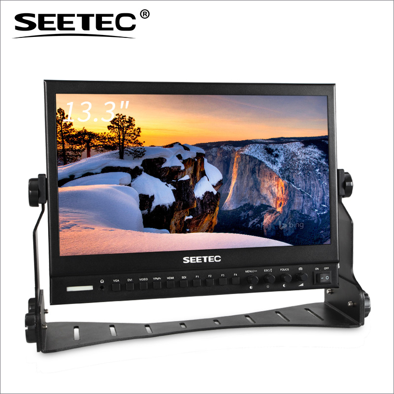 "SEETEC full HD 1920*1080 SDI broadcast display 13"" vga tft lcd monitor"