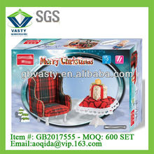 miniature doll house furniture sofe and table