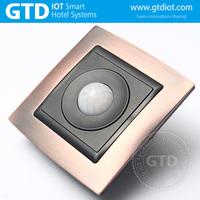 New design smart touch wall switch sensor day night light switch hotel Human body sensor switch