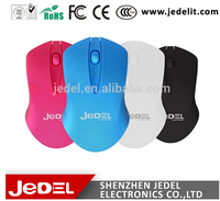 Latest colorful Jedel cute wireless mouse without battery