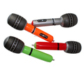 Good stock inflatable pvc microphone, inflatable musical instrument