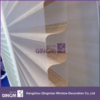 Home decoration china supplier of shangri-la sheer elegance roller blind fabrics