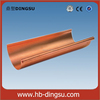 Factory copper rain gutter and downpipes/gutter and fittings/half round copper gutter