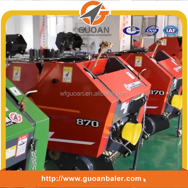 farm round bales equipment cheap rice straw baler machinery