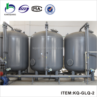 10000L per day zeolite water filtration for cooling tower water treatment