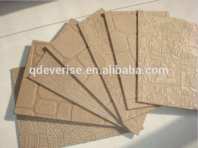 Hardboard Wall Panel ~ Embossed masonite hardboard wall panel brick