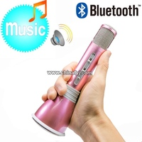 K068 Wireless Bluetooth mini pocket microphone karaoke player for singing recording