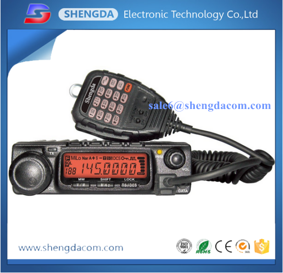 CB/FM/VHF/UHF single band ham mobile radio transceiver two way radio