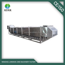 Vegetable fruit chain type Continuous Cooker