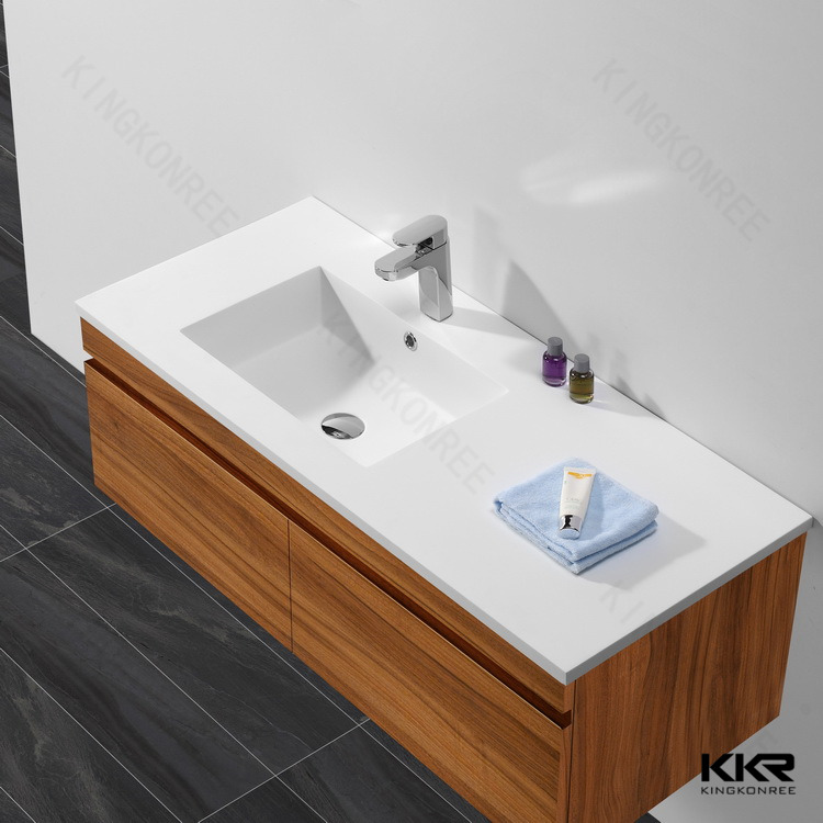 kkr stone round deep white wash basin