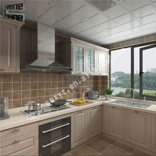 High quality accessories modern design new model aluminium alloy kitchen cabinet