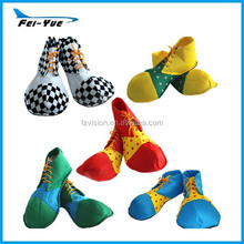 Halloween Cosplay Polyester Clown Costume Shoes For Adult and Kids