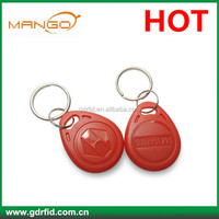 Factory wholesale custom RFID ABS blank key fobs for door access control